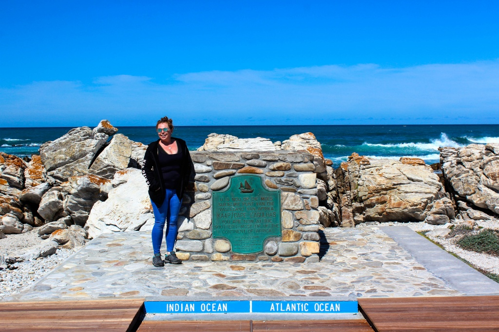 The meeting point of two oceans